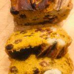 Bakłażan faszerowany porem w sosie miodowo – musztardowym